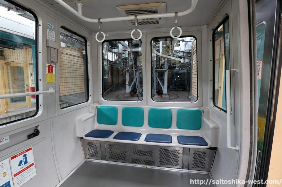 广岛濑野APM列车内部