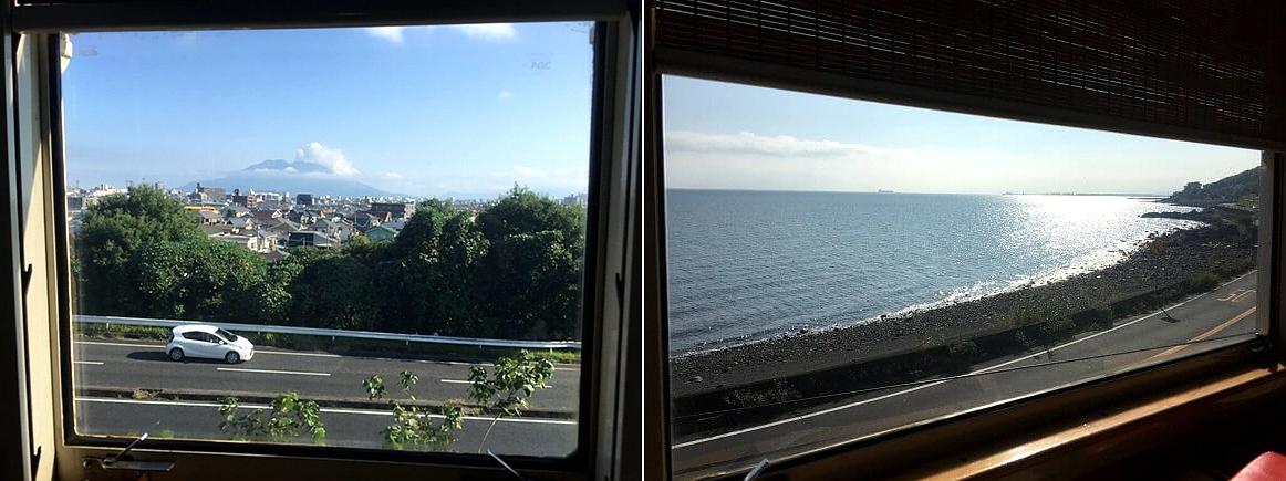 从车窗看出去的景色