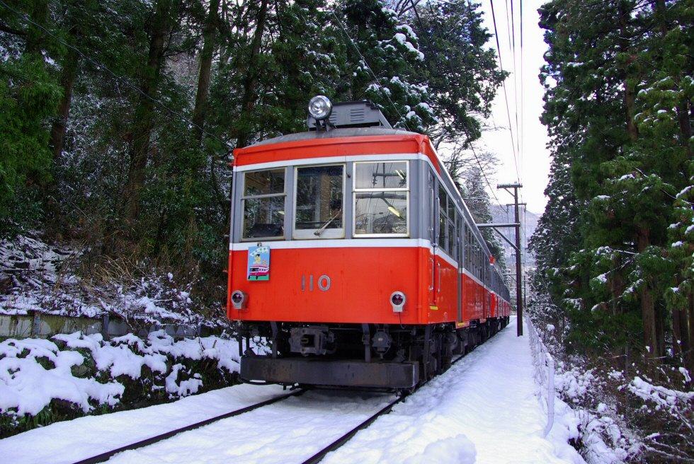 箱根登山铁道之冬
