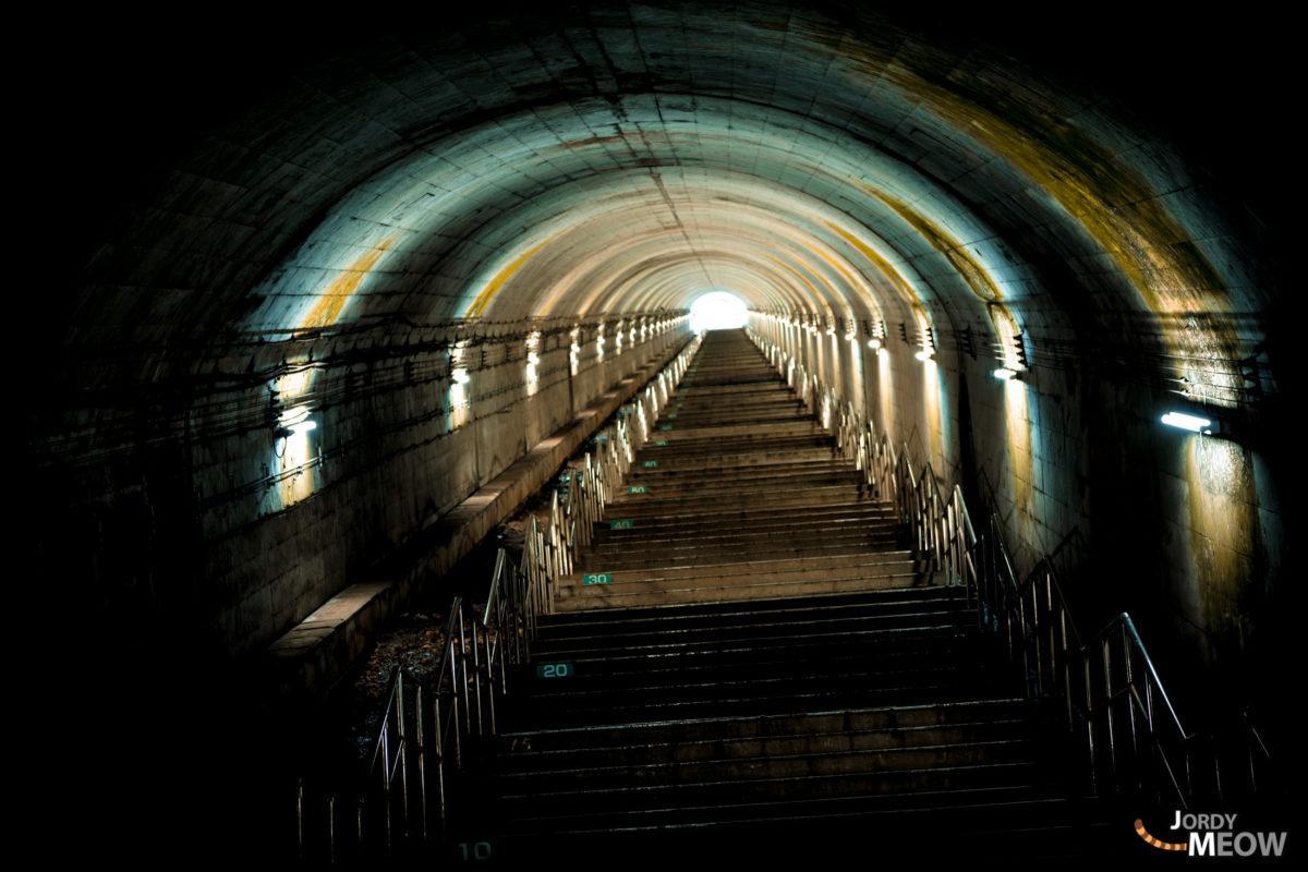 土合站462级台阶