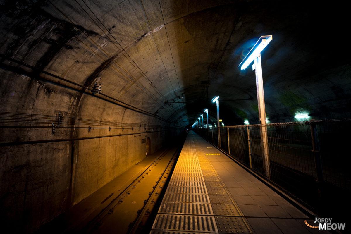 土合站下行站台
