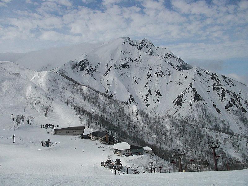 冬季的谷川岳