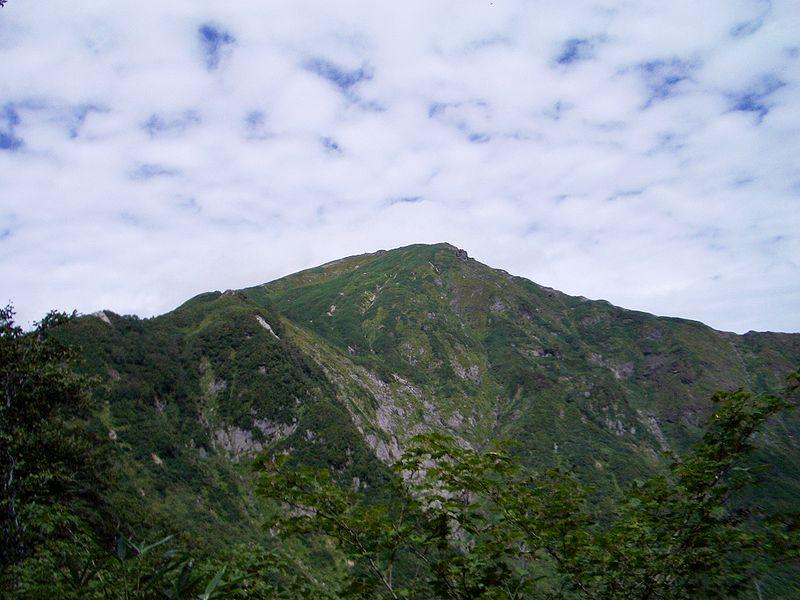 夏季的谷川岳