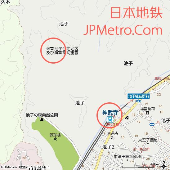 神武寺站周边区位图