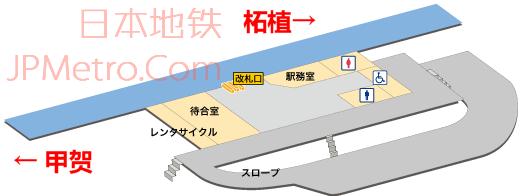 油日站车站结构