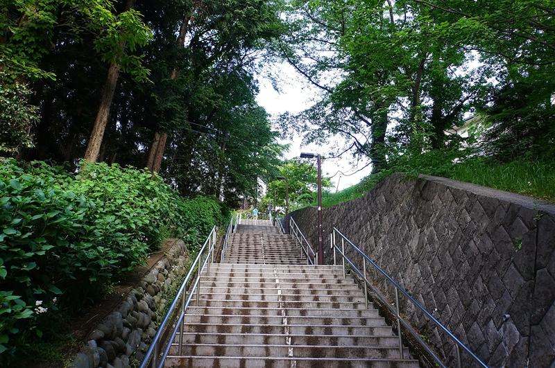 圣迹樱丘站楼梯