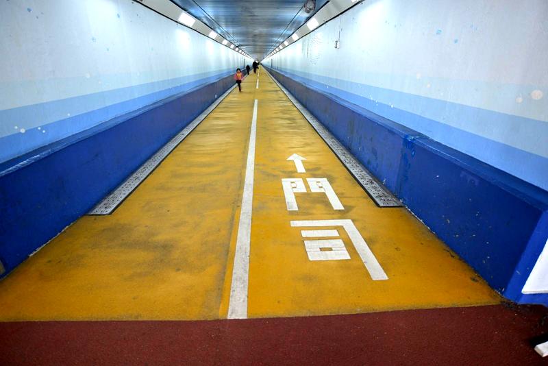 关门国道隧道下关侧入口