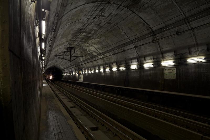 龙飞海底隧道车站全景