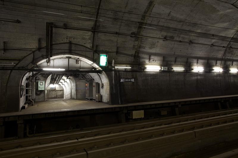 龙飞海底隧道上行站台
