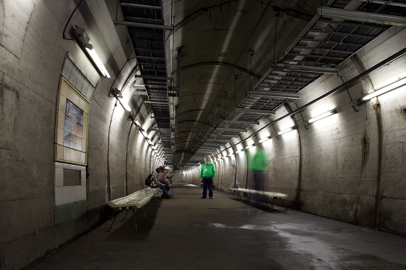 青函隧道作业坑道