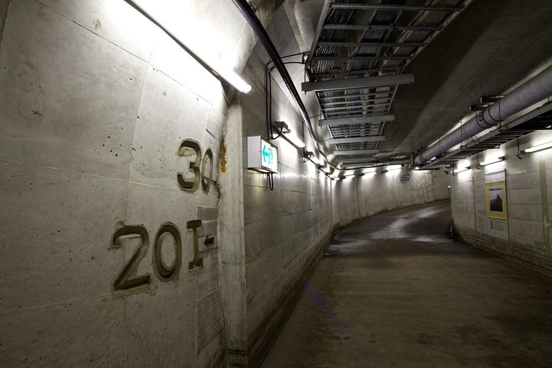 青函隧道下穿主隧道的联络通道