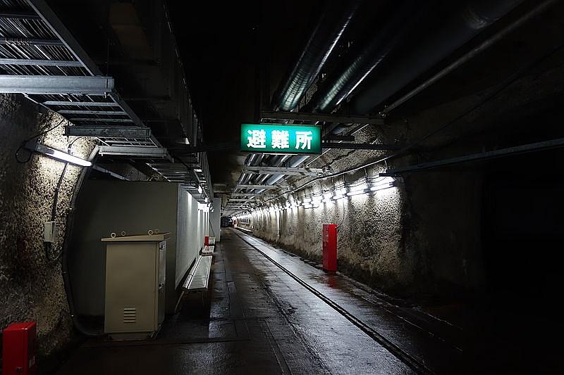 青函隧道海底避难所