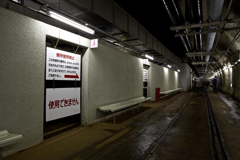 青函隧道海底避难所厕所