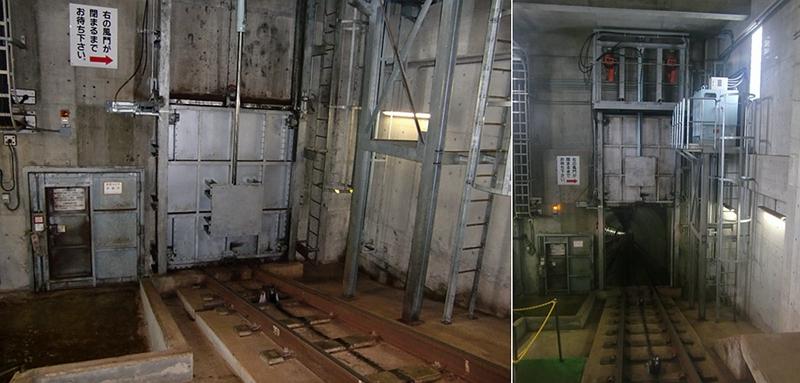 青函隧道地面的大铁门