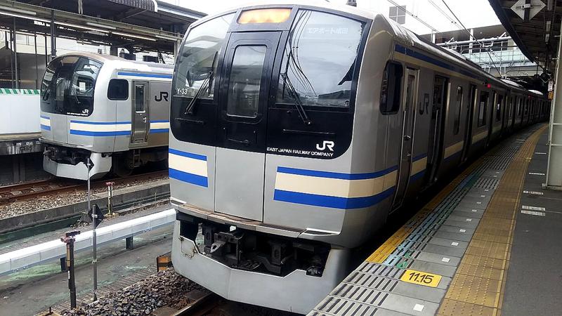 成田线快速使用E217系列车