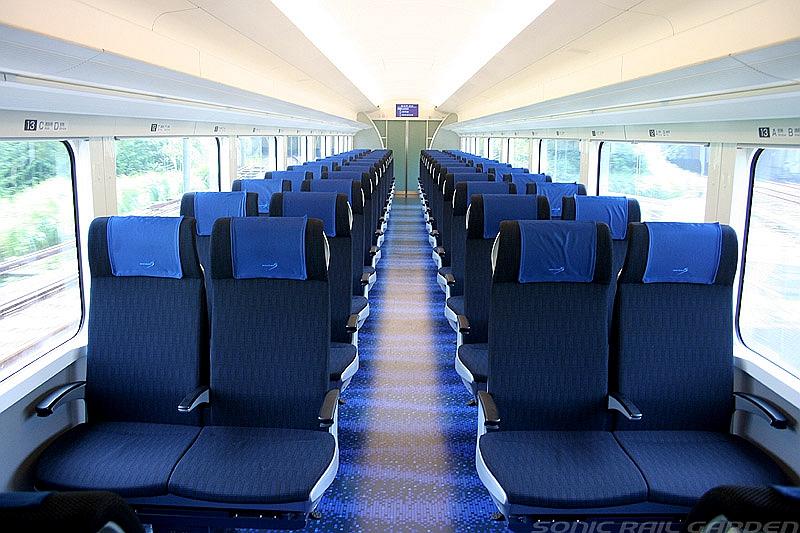 京成电铁Skyliner列车内部