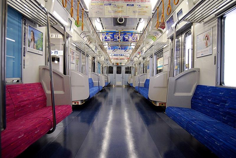 Access特快列车内部