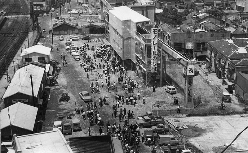 1966年开业时的姬路站