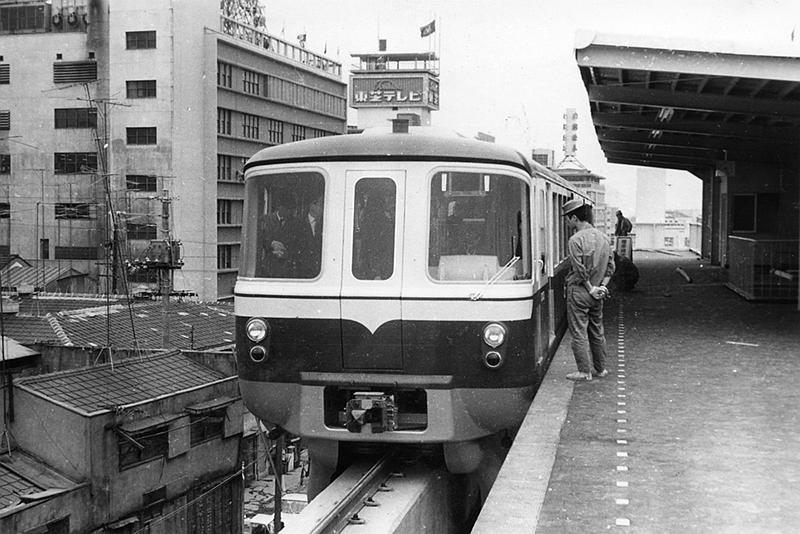 开业初期的姬路站