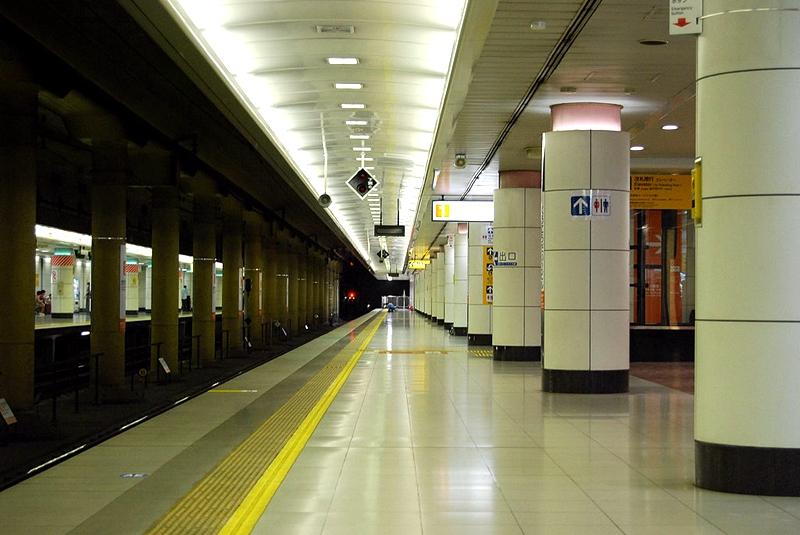 成田机场T2航站楼站2号站台