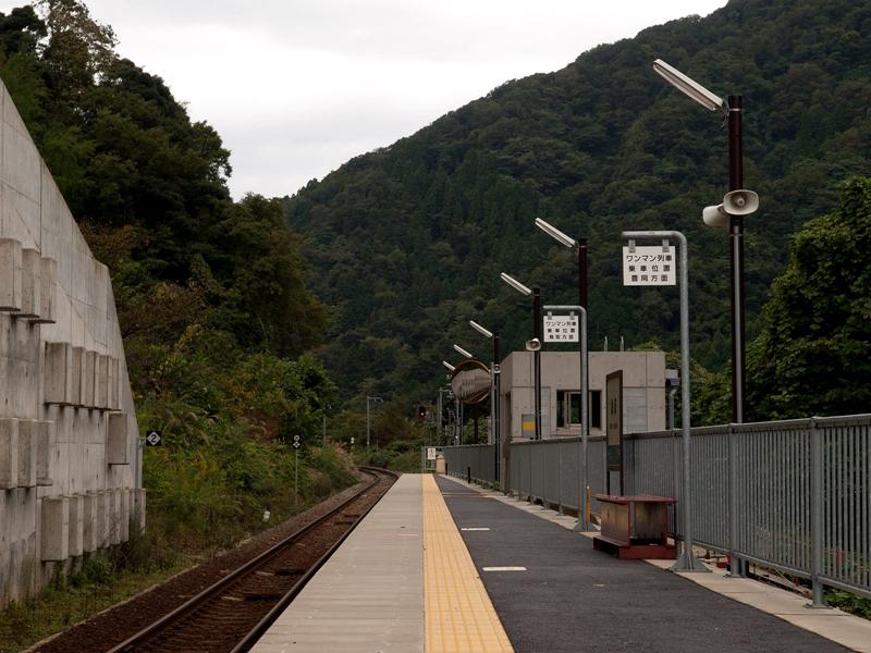 余部车站全景