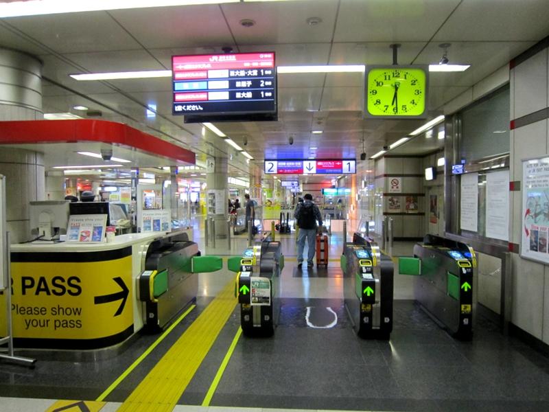 JR东日本检票口