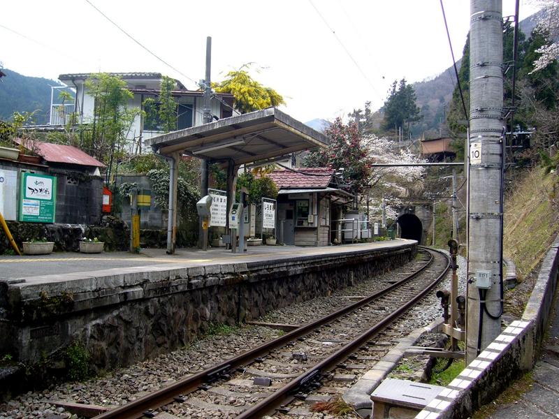 翻新改造前的白丸站