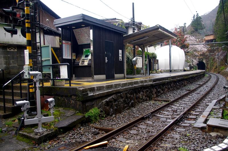 从西南侧看白丸站全景