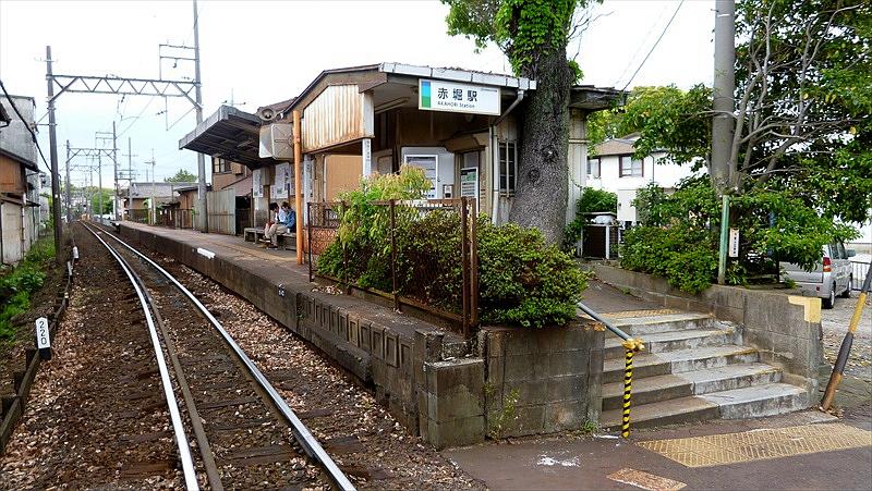 1面1线结构的赤堀站