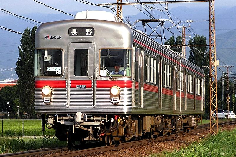 长野电铁3500系列车