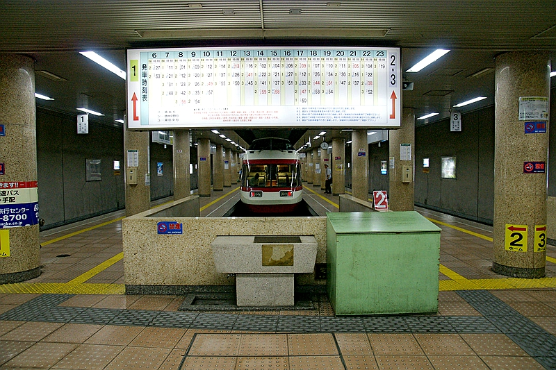 长野站站台