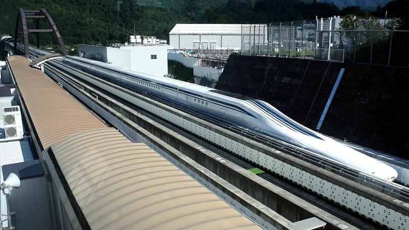 超导磁悬浮列车运行轨道