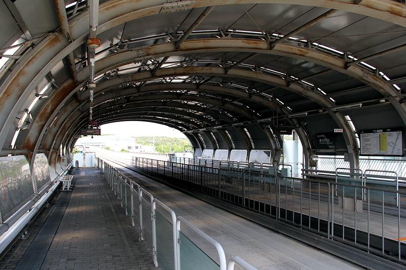 白泽溪谷站站台层