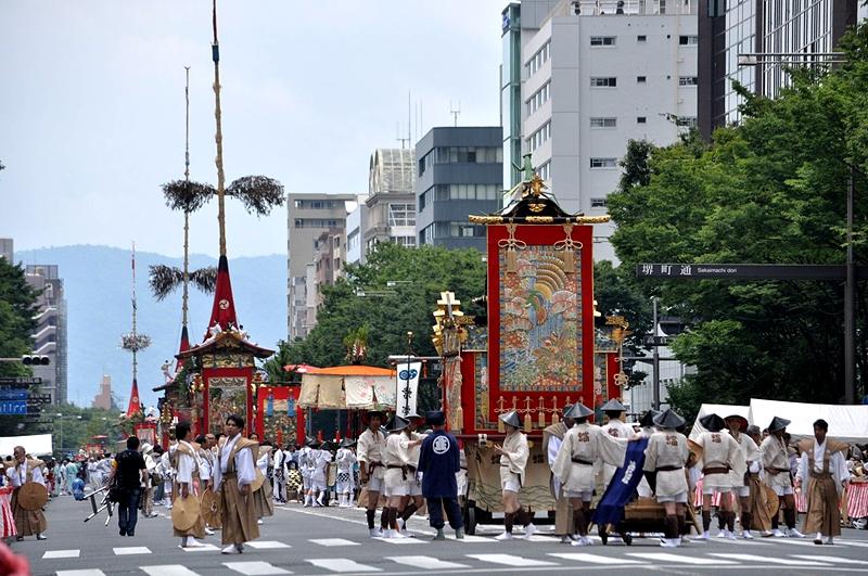 京都三大祭之一的祇园祭