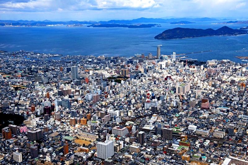 高松市以及濑户内海