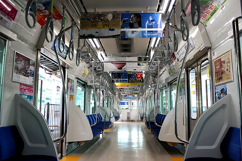 A3000型列车内部