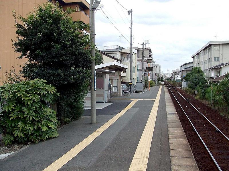 1面1线结构的备前三门站