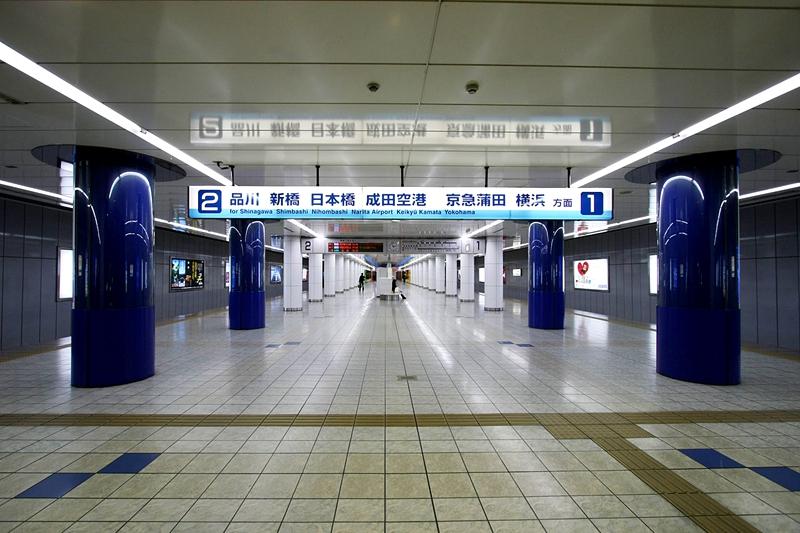 1面2线结构的京急日本国内站