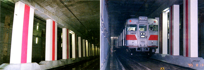 1995年8月13日恢复通车的大开站