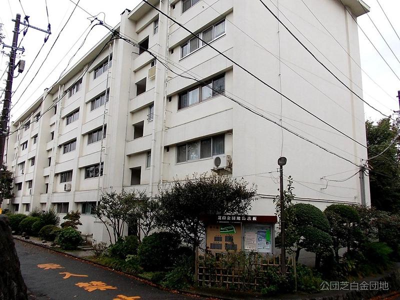 日本团地混凝土住宅楼