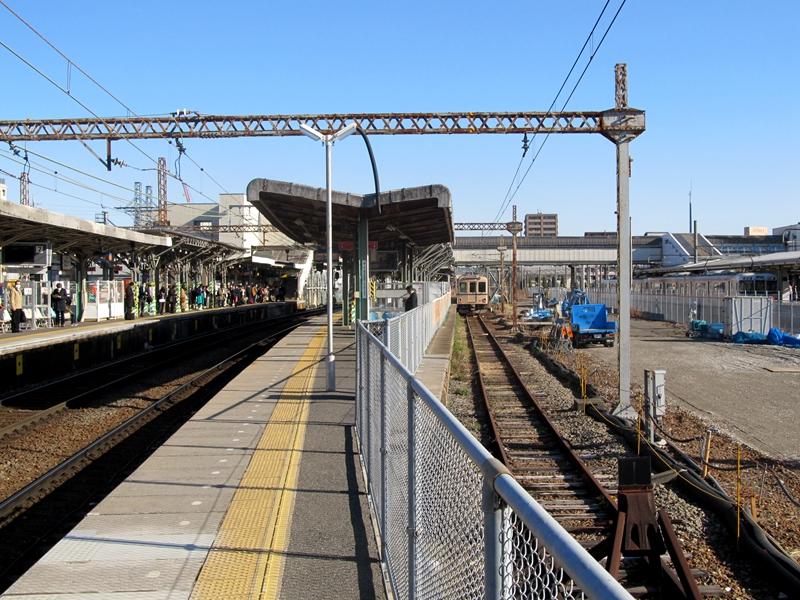 桑名站养老铁道轨道