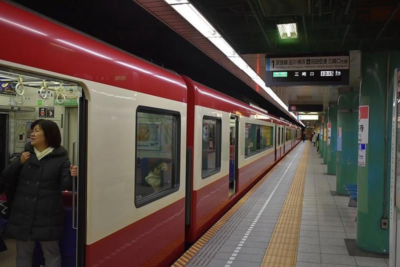 泉岳寺1号站台