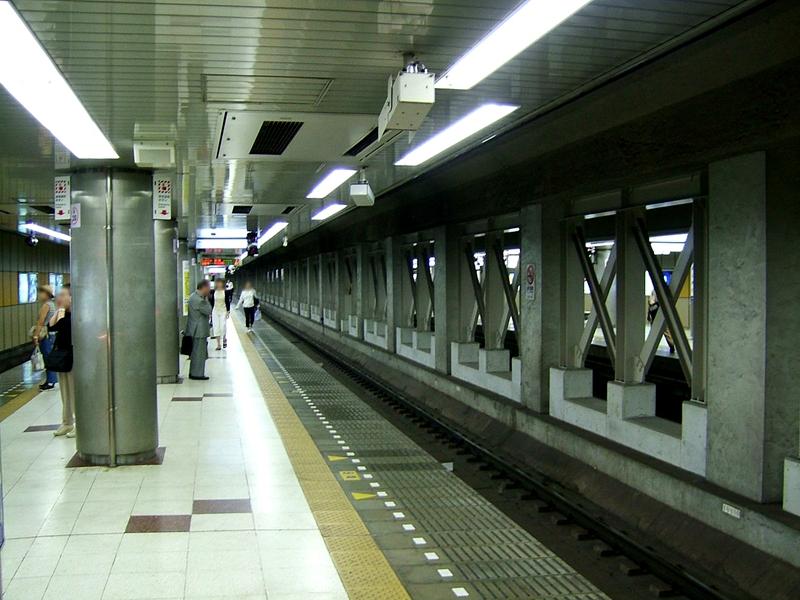 押上站站台
