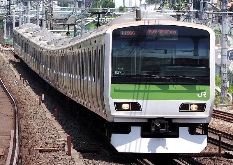 山手线E231系500番台列车