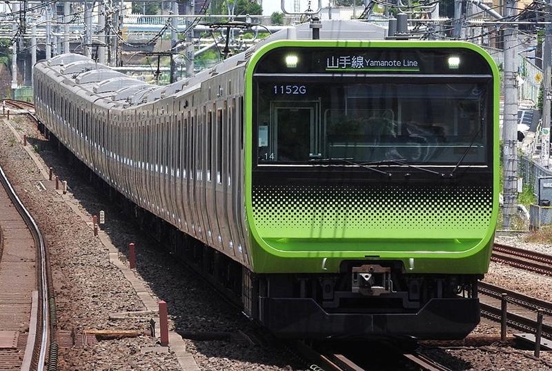 山手线E235系列车