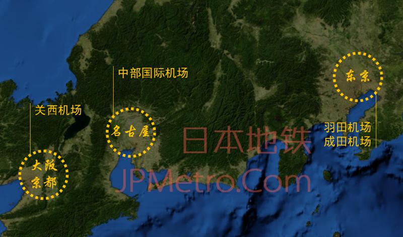 中部国际机场卫星图2