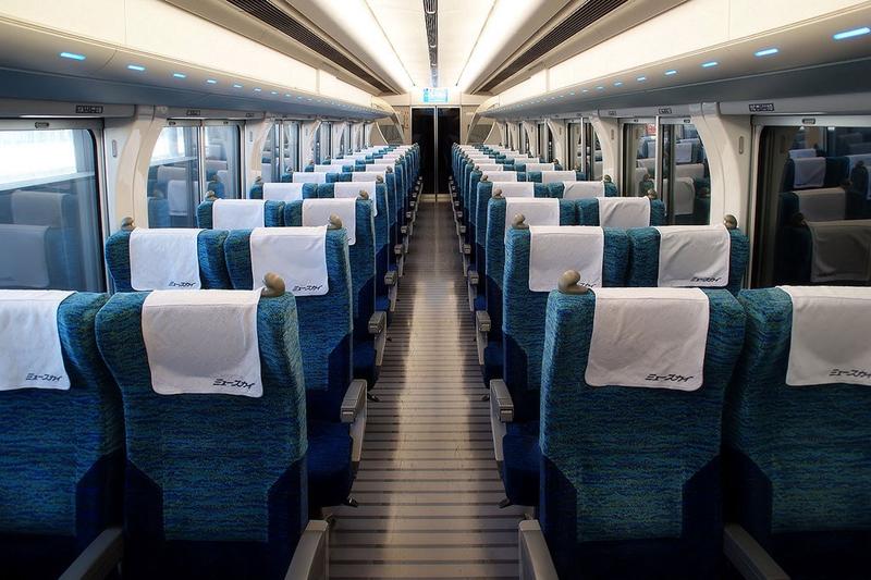 名古屋铁道2000系ミュースカイ列车内部