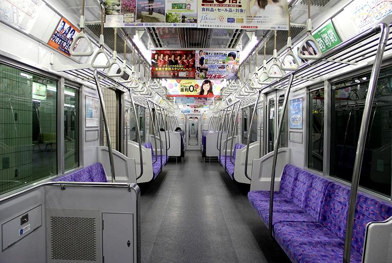 名古屋铁道300系列车内部