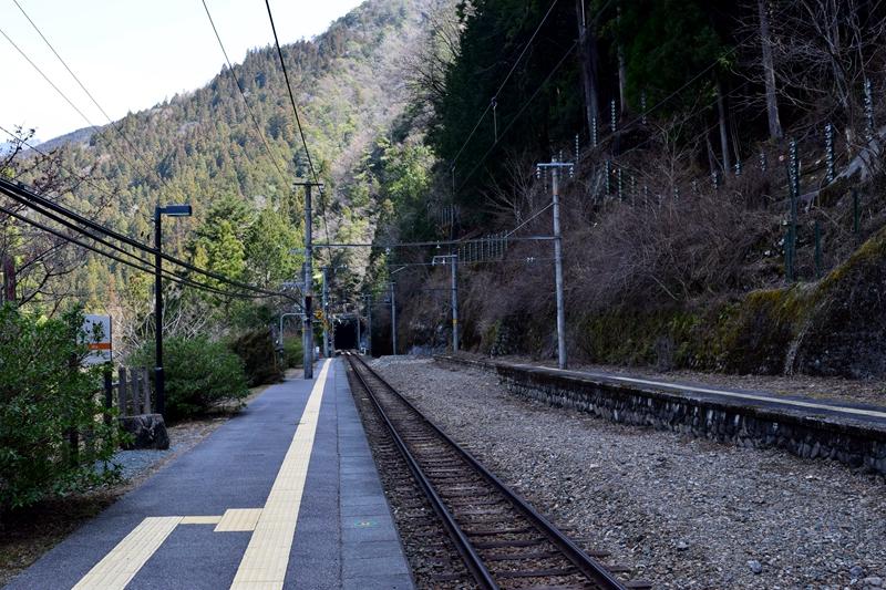 小和田站轨道