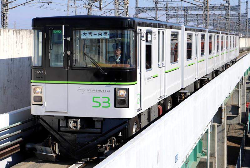 琦玉新交通伊奈线1050线列车